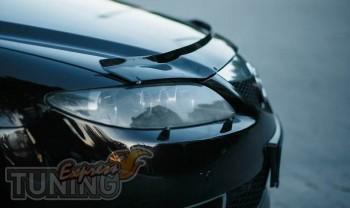 Дефлектор капота Мазда 6 (дефлектор на капот Mazda 6)