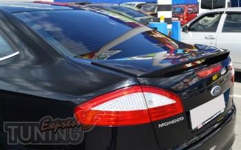 Задний аэродинамический спойлер для Ford Mondeo 4 (аксессуары от