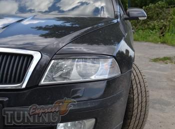 Купить накладки на фары автомобиля шкода Октавия А5 (магазин Exp