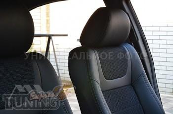 кожанные Чехлы Alfa Romeo Giulietta (авточехлы на сидения Альфа