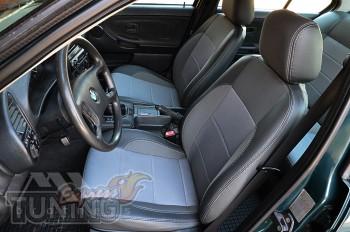 Чехлы в салон БМВ 3 Е36 (авточехлы на сидения BMW 3 E36)
