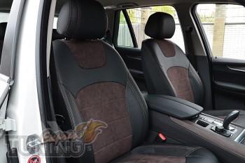 Чехлы в салон БМВ Х5 F15 (авточехлы на сидения BMW X5 F15)