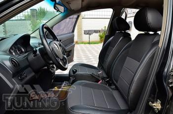 автомобильные Чехлы Шевроле Авео Т200 (авточехлы на сиденья Chev