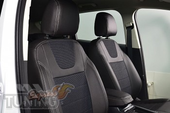 Чехлы Форд Эскейп 3 (авточехлы на сиденья Ford Escape 3)