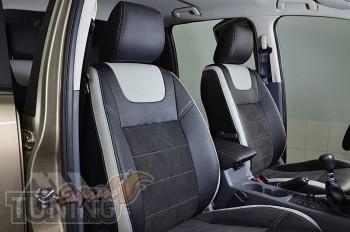 Чехлы Форд Рейнджер 3 (авточехлы на сиденья Ford Ranger T6)