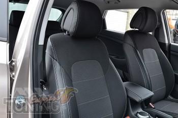 Чехлы Киа Cпортейдж 4 (авточехлы на сиденья Kia Sportage 4)