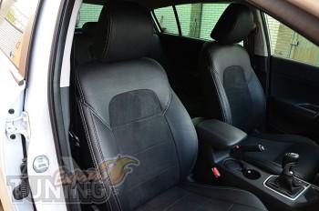 Чехлы в салон Киа Cпортейдж 4 (авточехлы сидений Kia Sportage 4)