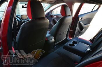 Чехлы в салон Мазда 3 BM (авточехлы на сидения Mazda 3 BM)