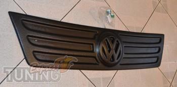 Накладка на решетку радиатора Фольксваген Кадди (фото зимней нак