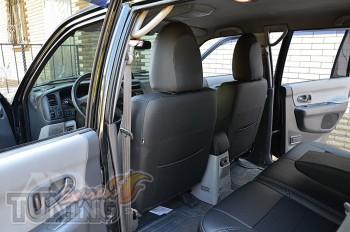 чехлы сидений Mitsubishi Pajero Sport 1