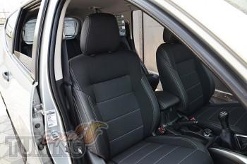 Чехлы Митсубиси Паджеро Спорт 3 (авточехлы на сидения Mitsubishi