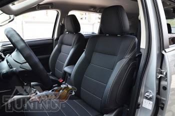Чехлы в салон Mitsubishi Pajero Sport 3