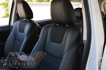Чехлы Mitsubishi Pajero Sport 3 (авточехлы на сидения Митсубиси