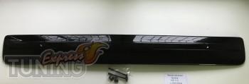 Зимняя заглушка решетки бампера Транспортер Т6 глянцевая (наклад