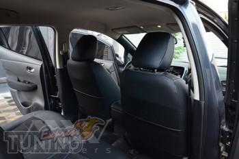 Чехлы в салон Ниссан Лиф (авточехлы на сидения Nissan Leaf)