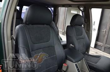 Чехлы Ниссан Патрол Y61 (авточехлы на сидения Nissan Patrol Y61)
