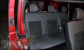 авточехлы на сидения Renault Trafic пассажир