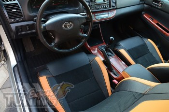 заказать Чехлы Тойота Камри 30 (авточехлы на сидения Toyota Camr