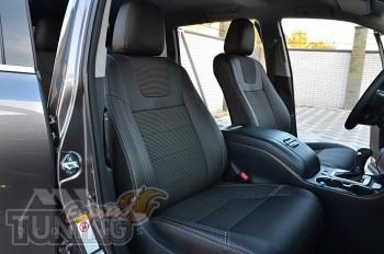 Чехлы Тойота Хайлендер 3 (авточехлы на сидения Toyota Highlander