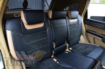 Чехлы для Honda CR-V 3 (авточехлы на сидения Хонда СРВ 3)