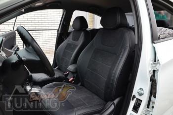 Чехлы для Хендай Акцент 4 (авточехлы на сиденья Hyundai Accent 4