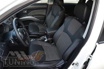 Чехлы в салон Mitsubishi Outlander XL