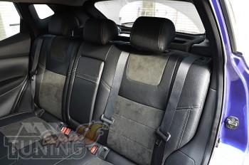 Чехлы в салон Nissan Qashqai 2 (авточехлы на сидения Ниссан Кашк