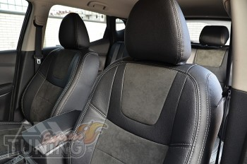 автомобильные Чехлы Nissan Qashqai 2 (авточехлы на сидения Нисса