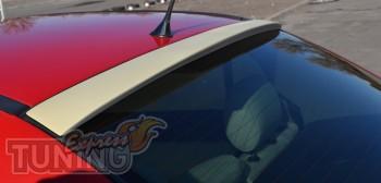 Спойлер на заднее стекло Opel Astra G (козырек бленда на Опель А