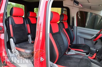 чехлы в салон Volkswagen Caddy 3