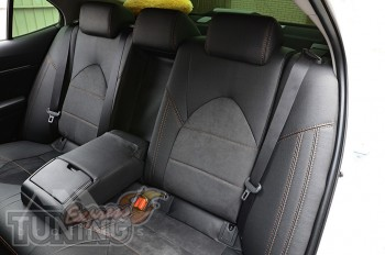 Чехлы для Toyota Camry XV70)