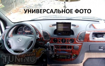 Накладки на панель Мерседес W124 (декор салона Mercedes W124 под