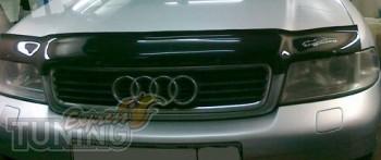 Дефлектор капота для Audi 80 B4 (мухобойка на капот Ауди 80 Б4 1