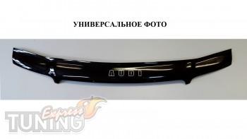 Дефлектор капота Ауди Q3 (мухобойка Audi Q3)