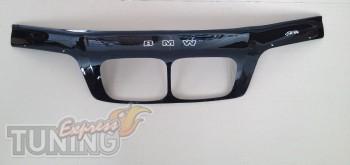 Дефлектор капота БМВ 3 Е46 (мухобойка на капот BMW 3 E46)