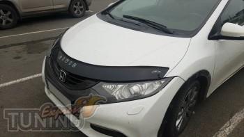 мухобойка на капот Honda Civic 9 5D