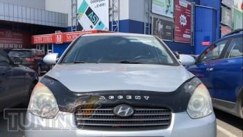 Мухобойка Hyundai Accent 3