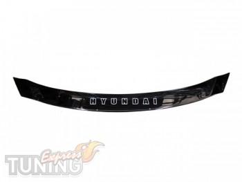 Дефлектор капота Хендай Ай 40 (мухобойка на капот Hyundai i40)