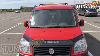 мухобойка на капот Fiat Doblo 1