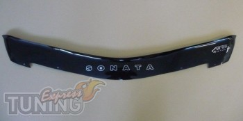 Дефлектор капота Хендай Соната 6 YF (мухобойка на капот Hyundai