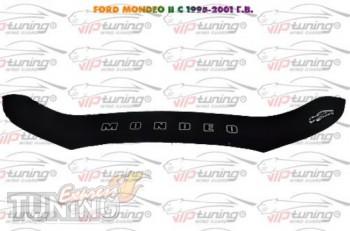 Дефлектор капота Форд Мондео 2 (мухобойка на капот Ford Mondeo 2