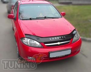 Мухобойка для Chevrolet Lacetti hatchback (дефлектор капота на Ш
