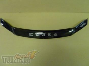 Дефлектор капота Mazda 6 GG (мухобойка на капота Мазда 6 GG)