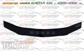 Спойлер на капот Мазда 626 рестайл (дефлектор капота Mazda 626 G