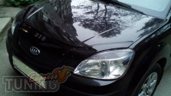 Дефлектор капота для Kia Rio 2 фото