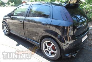 Спойлер задний на Fiat Grande Punto (установка)