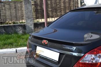 Спойлер на крышку багажника Gelly Emgrand Ec7 (тюнинг Эмгранд Ес