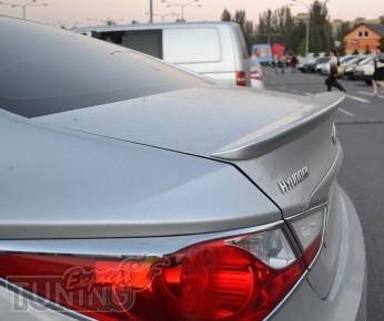 Задний оригинальный спойлер для Hyundai Sonata YF (магазин тюнин