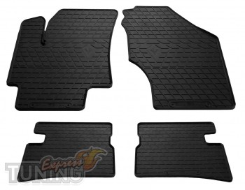 Фирменные резиновые коврики на Hyundai Accent 3 Verna