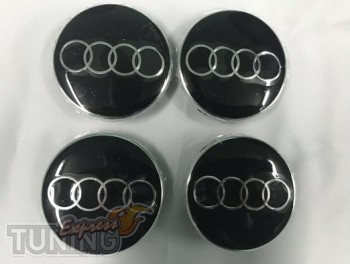 Оригинальные колпачки в диски Audi комплект 4шт